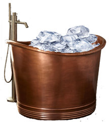 Body Freezing Ice Bath